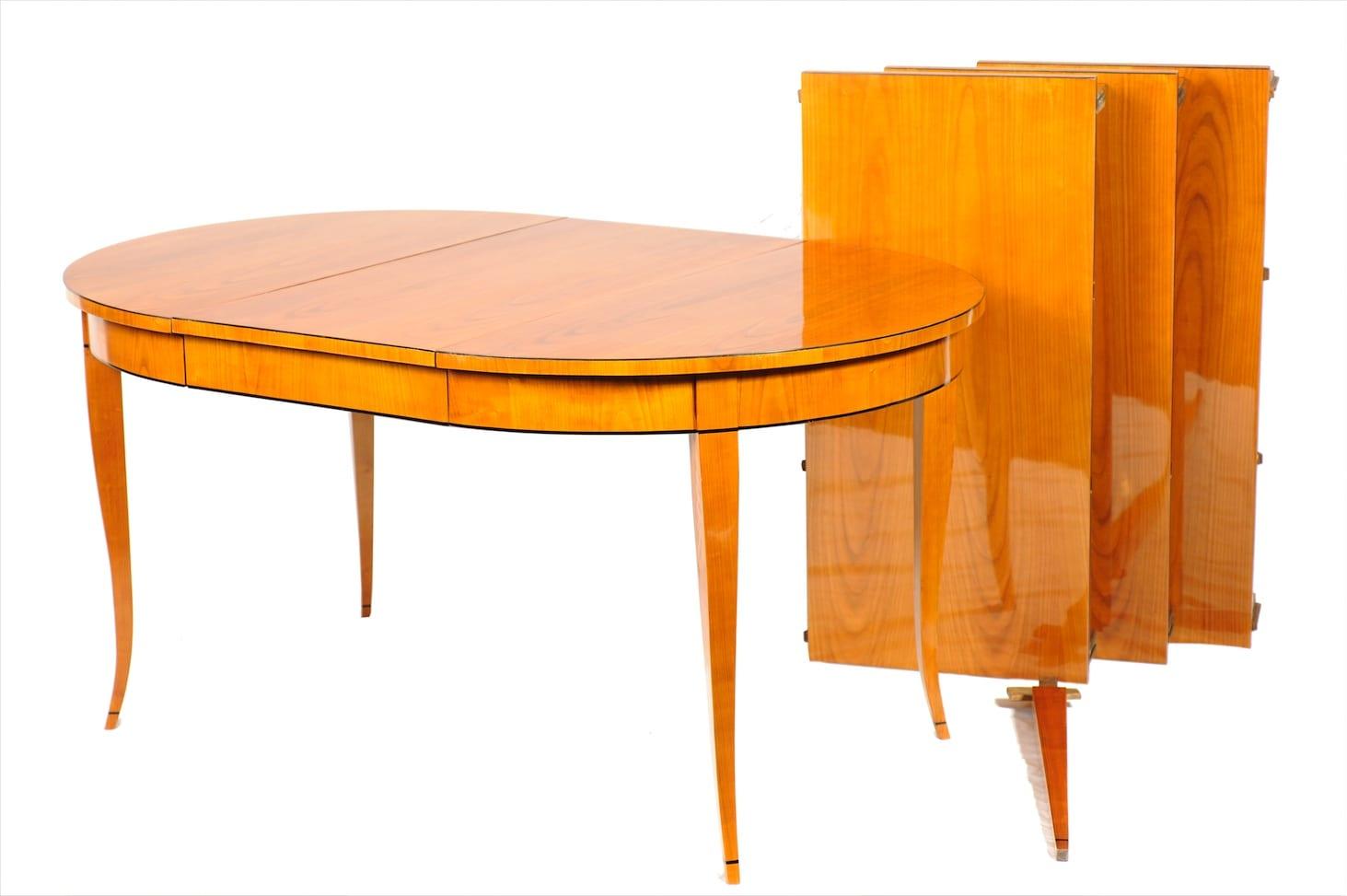 Biedermeier Tisch Kirschbaum Um 1890 Eibel Antiquitäten Und Kunst