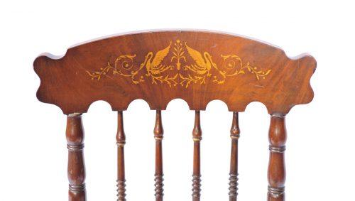 Satz von 6 Stühlen, Wien um 1840