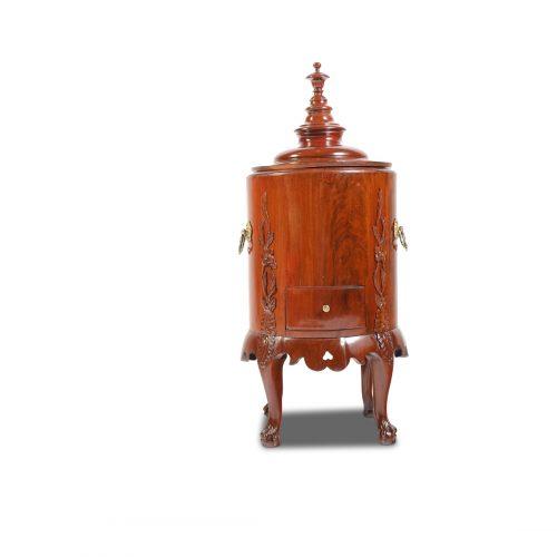 Eiskühlbox Frankreich um 1780 Mahagoni